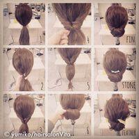 今日からはじめたい!!Hair salon Vitaのスタイリスト、yumikoさんのヘアアレンジ術がすごすぎる♡