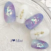 マーブルが可愛い♡色別で見るマーブルネイルデザインおすすめ10選