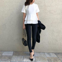 白シャツで「憧れのお姉さんコーデ」♡初夏を感じる大人女子コーデ