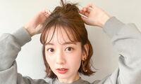 ショートのハーフアップは髪が短くても大丈夫♡可愛いヘアアレンジをご紹介