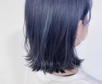 ブルーアッシュグレーなら色落ち後もオシャレ♡おすすめスタイル&市販カラー剤総まとめ