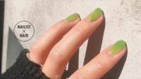 心安らぐ自然色♪緑を使ったおすすめネイル6選
