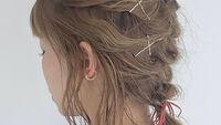 【ミディアムヘア】3分簡単セルフアレンジ♡