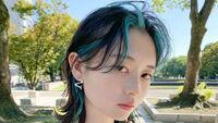 【推し活に♡】トレンドヘア×推し色「ブルー」の褒められスタイル!