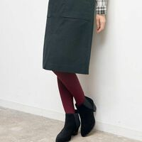 冬にも履きたいスカート。タイツがベスト?スカート×足元合わせの正解コーデ