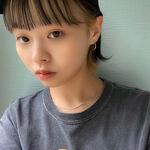 前髪のインナーカラーに視線はクギヅケ♡際立つおしゃれ感をGET!