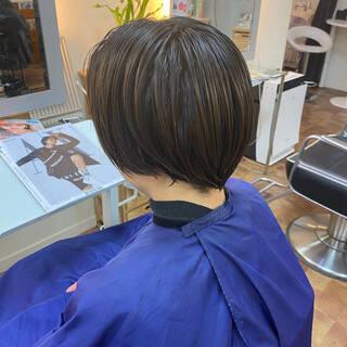 ツーブロック ショート 刈り上げショート 刈り上げ女子ヘアスタイルや髪型の写真・画像