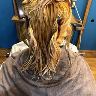 大人可愛い グレージュ フェミニン 透明感ヘアスタイルや髪型の写真・画像