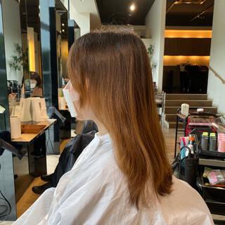 艶髪 抜け感 ボブ アンニュイほつれヘアヘアスタイルや髪型の写真・画像
