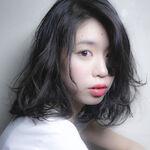 人気の黒髪ロブヘアがおしゃれ♡美容師イチ押しヘアカタログ☆