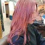 【ラベンダー&ピンク】一目惚れするカラーは色落ちまで可愛い♡