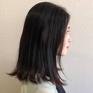 前下がりショート 黒髪ショート ショート ショートパーマヘアスタイルや髪型の写真・画像