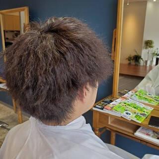 ナチュラル メンズ メンズスタイル メンズヘアヘアスタイルや髪型の写真・画像