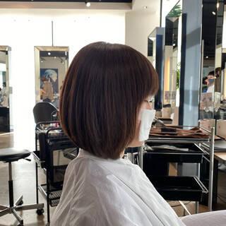 ナチュラル 内巻き 艶髪 大人可愛いヘアスタイルや髪型の写真・画像