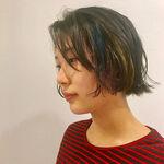 さりげなく垢抜けできる♡黒髪にインナーカラーがとってもオシャレ!