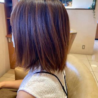 ブリーチなし 丸みショート ショート 透明感カラーヘアスタイルや髪型の写真・画像