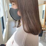 ブリーチなしで流行の透明感カラーに!憧れのぷる透けヘアをゲット♡