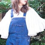 波打つビッグフリルが「可愛い」を呼び込む!2016春夏トレンド服×髪型をチェック!