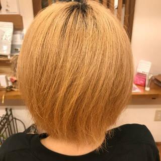 ブリーチ デート アウトドア スポーツヘアスタイルや髪型の写真・画像