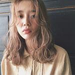 前髪なしの子必見!ミディアムパーマってこんなにかわいい♡