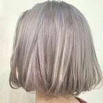 「ホワイトアッシュ」外国人風のヘアカラー♪ブリーチなしOKな髪色♡