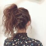 【ロングヘアさん向け】忙しい朝も簡単!まとめ髪アレンジ15選