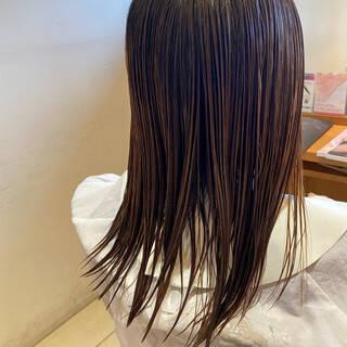 丸みショート ショート ハイライト 小顔ショートヘアスタイルや髪型の写真・画像