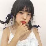 """清楚系の定番!黒髪×セミロングは""""前髪あり""""で垢抜ける♡"""