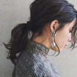 【黒髪×ハイライト】が相性抜群!レングス別に人気スタイルを追及。