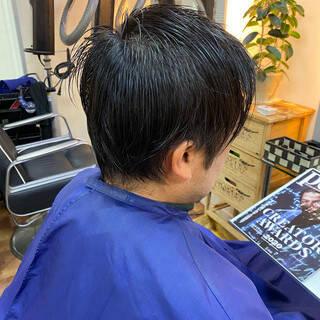 メンズカット メンズヘア メンズスタイル ショートヘアスタイルや髪型の写真・画像