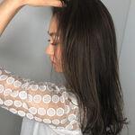 大人のお色気ダークカラー♡落ち着きのある暗髪がかわいい!