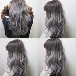 髪色は旬のグレーに染めて♪おしゃれ女子におすすめのカラー