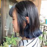 色落ち過程も楽しめる素敵なブルーブラックは大人女子にこそおすすめ!