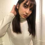 オリーブグレージュのヘアカタログ♡黒髪とは違う魅力の暗髪カラー