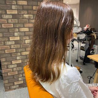 艶髪 ナチュラル ダメージレス 髪質改善ヘアスタイルや髪型の写真・画像
