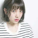 暗めアッシュグレー系カラーは日本人に似合う外国人風カラー!長さ別カタログ