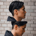 フォーマルの定番は清潔感あふれるネオ七三!モテたい男子必見の髪型