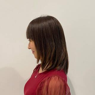 ノースタイリング エレガント ウルフ女子 美シルエットヘアスタイルや髪型の写真・画像