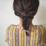 夏のロングヘアアレンジはコレ♡手軽にできるまとめ髪