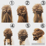 伸びかけヘアもすっきりかわいく見せたい!セミロングヘアのアップスタイル10選