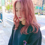 春は甘~いピンクブロンドが映える♡ヘアスタイルを素敵にするカラー