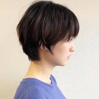 ハンサムショート ベリーショート ショート モードヘアスタイルや髪型の写真・画像