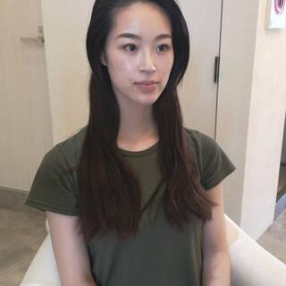 大人かわいい 黒髪 大人女子 デートヘアスタイルや髪型の写真・画像
