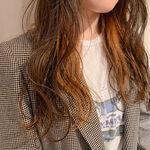 インナーカラーオレンジのヘアカタログ♡ビタミンカラーで気分明るく!