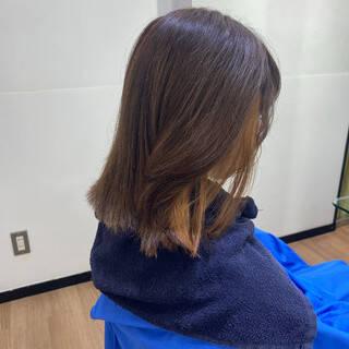 ブルージュ ブルーブラック ネイビーブルー モードヘアスタイルや髪型の写真・画像