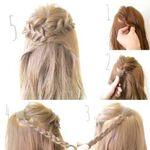 結婚式お呼ばれヘアは華やかさ&キュートな編み込み髪型でキメる