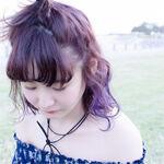【春夏カラー】ラベンダーアッシュで作るツヤ&透明感