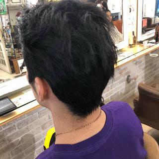 メンズヘア メンズ ショート ストリートヘアスタイルや髪型の写真・画像