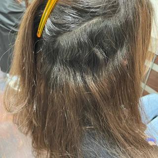 髪質改善トリートメント 縮毛矯正 艶髪 最新トリートメントヘアスタイルや髪型の写真・画像