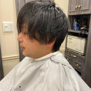 ショートヘア フェードカット ナチュラル ベリーショートヘアスタイルや髪型の写真・画像